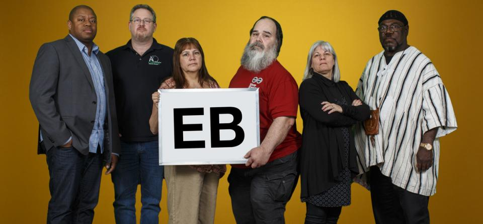 Picture of the EB Bargaining Group