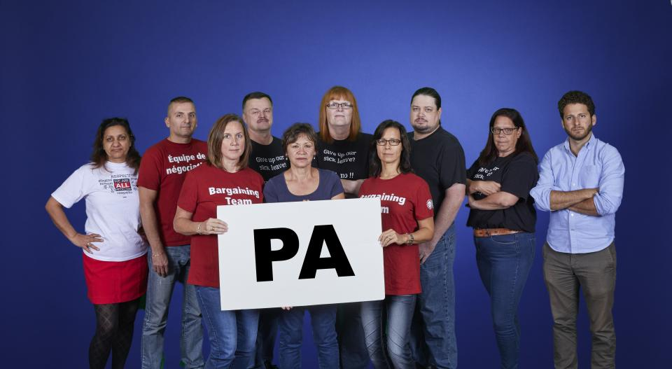 Picture of the PA Bargaining Group