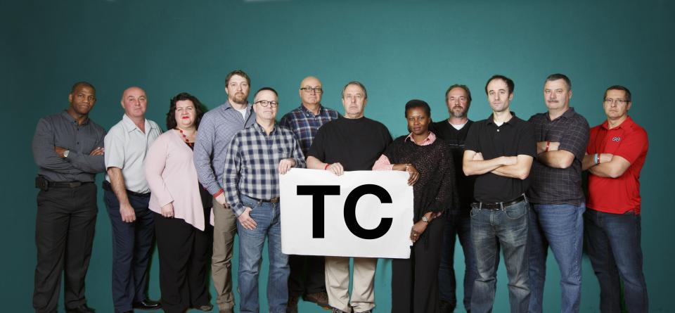 Picture of the TC Group Bargaining Team