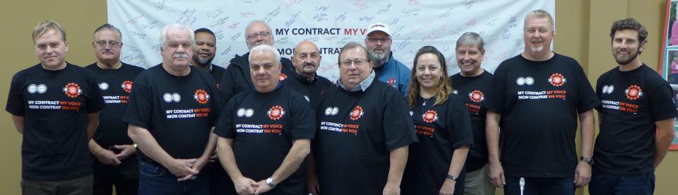 CRA bargaining team